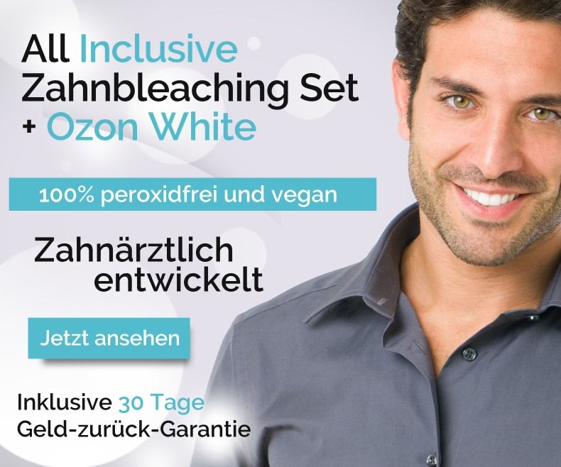 All Inclusive Zahnbleaching Set + Ozon White